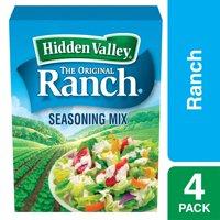 Hidden Valley Original Ranch Salad Dressing & Seasoning Mix, Gluten Free, Keto-Friendly - 4 Packets