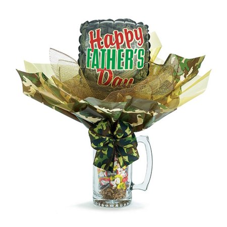 Happy Fathers Day Candy Filled Stein Gift