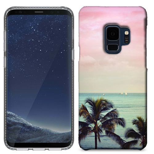 MUNDAZE Vacation Dreaming Case Cover For Samsung Galaxy S9