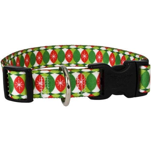 Yellow Dog Design CCHR100TC Christmas Cheer Standard Collar - Teacup