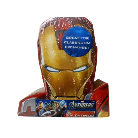 Marvel Group Of Companies (Valentines Day Cards 16 Pack - Marvel Avengers By Paper Magic)