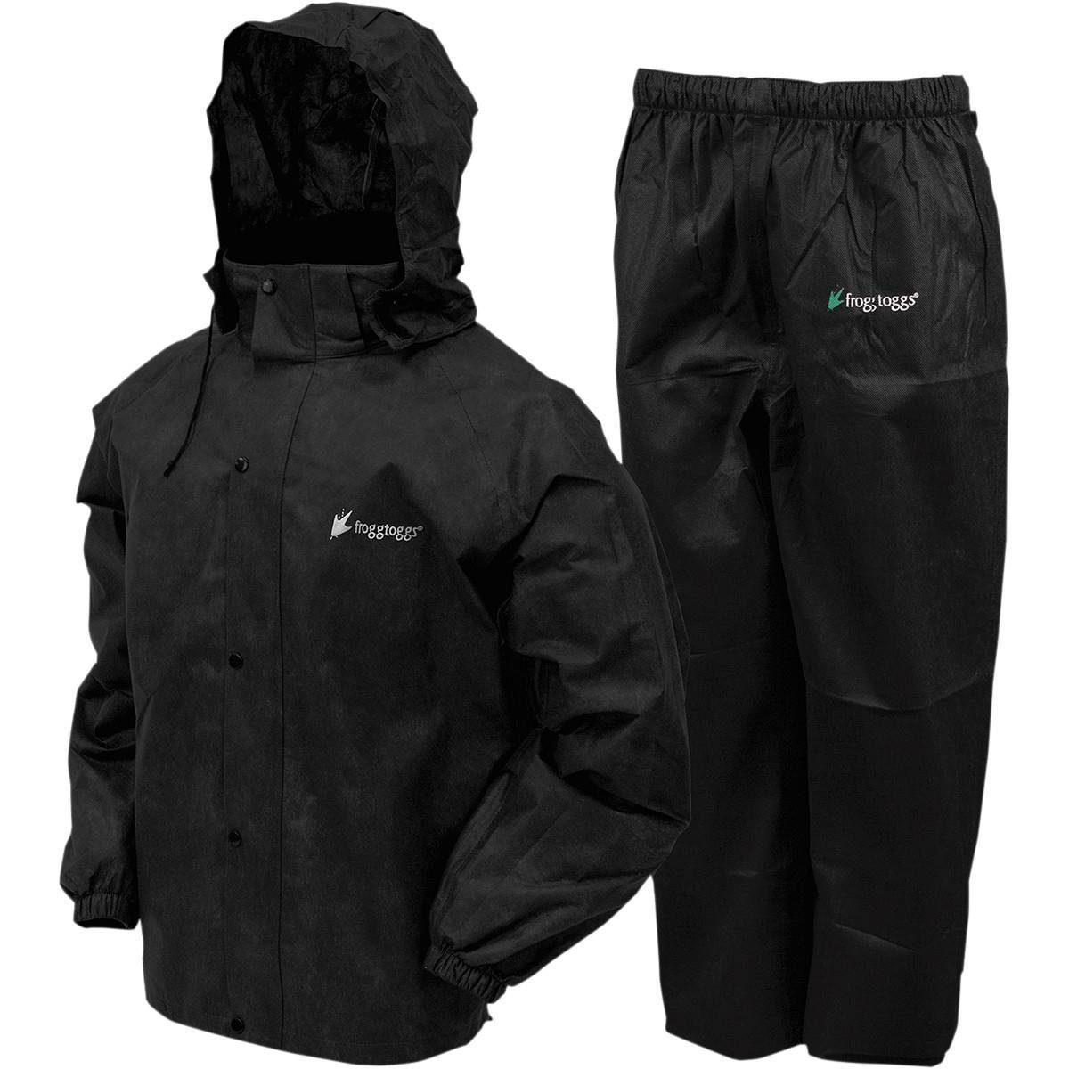 All Sports Rain Suit (Black, Large) AS131001LG, A blend of classic Frogg Toggsnon-woven materials that provide a great... by