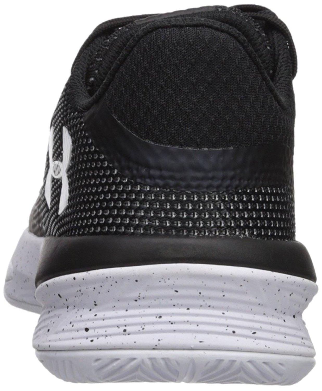 Under Armour Women's Block City Volleyball Shoe, 12 B US, Black/Black