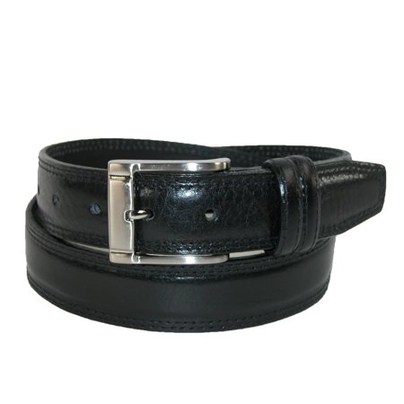 90df3955721f Landes Size 32 Mens Italian Leather Padded Belt with Stitch Detail ...