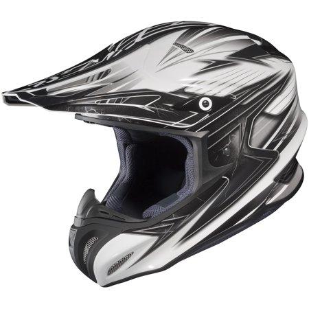 HJC RPHA X Factor Helmet Black (MC-5) (White, Small)
