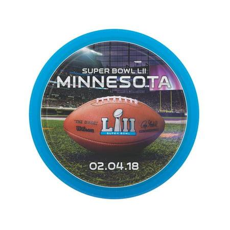 NFL® Super Bowl LII Paper Dinner Plates - Super Bowl Paper Plates