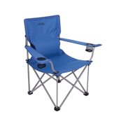 "Alps Mountaineering Power-Back Chair 24 "" x 16"" x 38"" Blue 8141602"