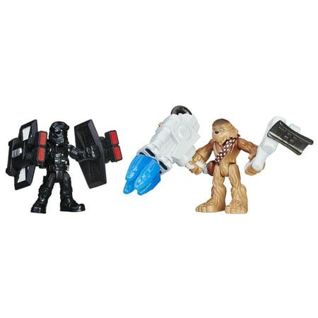 Star Wars Galactic Heroes Chewbacca & First Order TIE Pilot - Chewbacca Sash