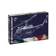italeri models ab 205 arma dei carabinieri airplane model building kits