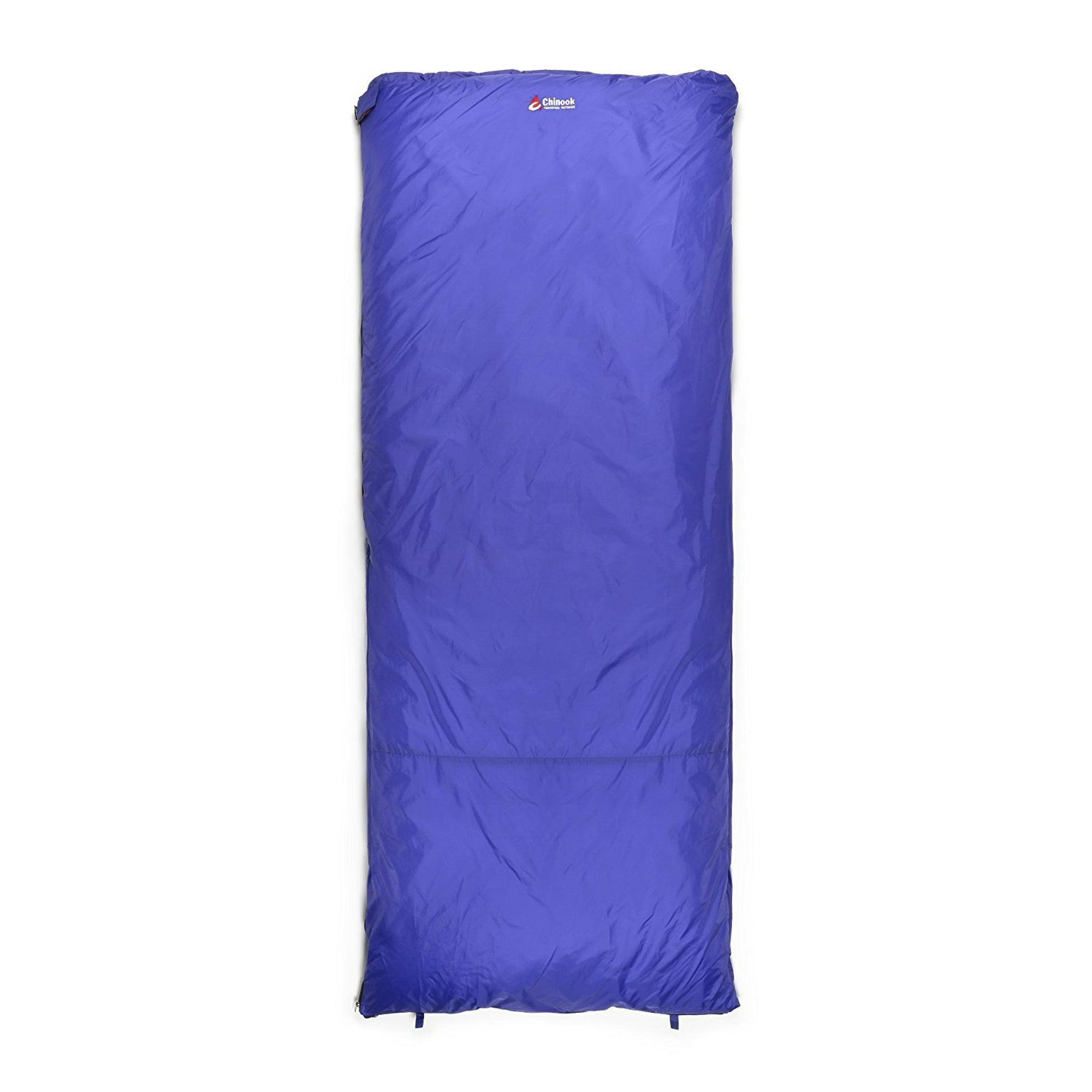 low priced 92aa1 08c5f Chinook Thermopalm Rectangle Sleeping Bag 32F/0C Blue ...