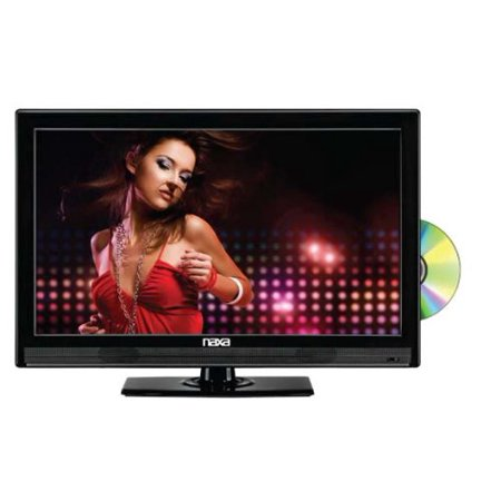 Naxa Ntd 1952 19 Inch Widescreen Hd Led Tv With Built In Digital Tv Tuner And Usb Sd Inputs And Dv Multi Colored
