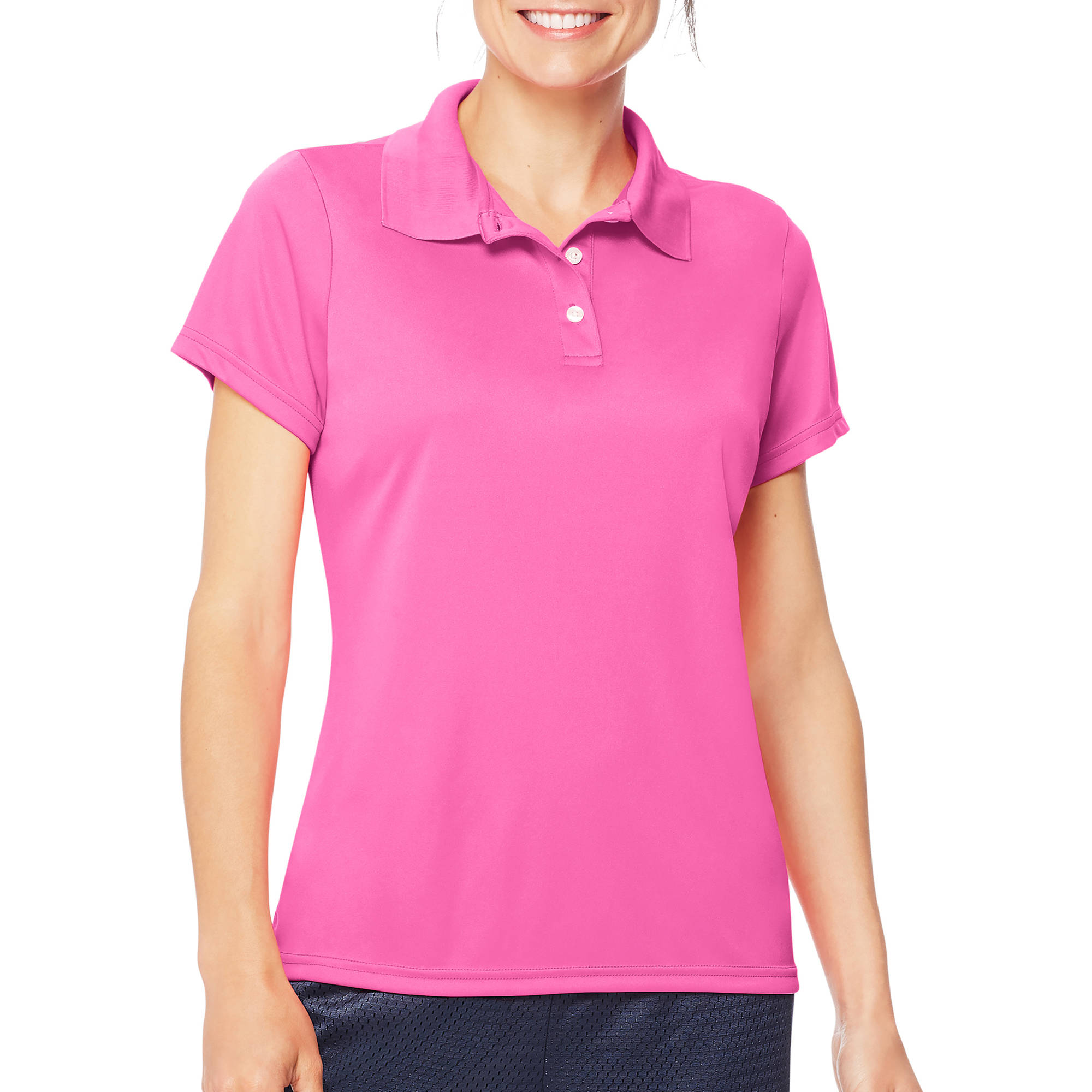 Hanes Sport Women's Cool DRI Performance Polo (50+ UPF)