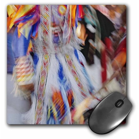 3Drose Native American Indian Dance  Montana   Us27 Aje0095   Adam Jones  Mouse Pad  8 By 8 Inches