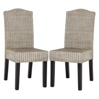Safavieh Odette Wicker Dining Chair, Multiple Colors, Set of 2