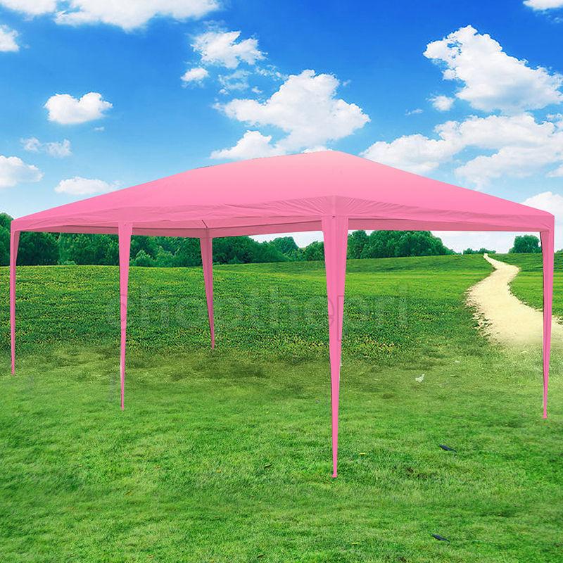 eWarehouseDirect 10 x 20 Easy POP UP Green Coffee Wedding Party Tent Folding Gazebo Beach Outdoor Canopy Carry Bag New by New