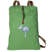 South Carolina Drawstring Backpack NATURAL COTTON South Carolina Cinch Bag
