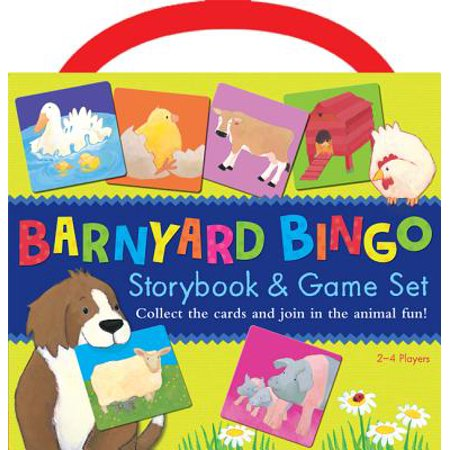 Barnyard Bingo Book & Game Set