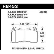 Hawk 03-06 Evo / 04-09 STi / 09-10 Genesis Coupe (Track) / 2010 Camaro SS DTC-70 Race Front Brake Pa