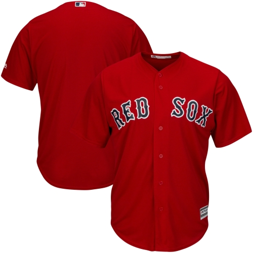 Boston Red Sox Majestic Big & Tall Cool Base Team Jersey - Red