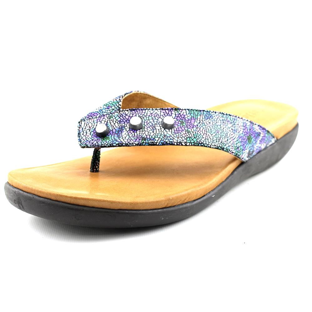 Gentle Souls Gilford   Open Toe Leather  Thong Sandal
