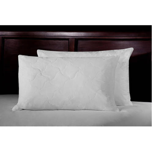Ultrasoft Quilted Feather Bed Pillows, Set of 2