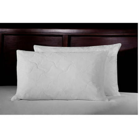 Ultrasoft Quilted Feather Bed Pillows, Set of 2 (French Quilted Pillow)