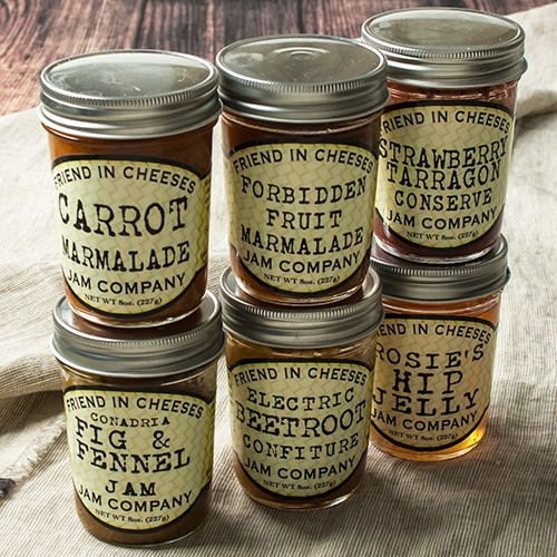 Friend in Cheeses Jams Electric Beetroot by