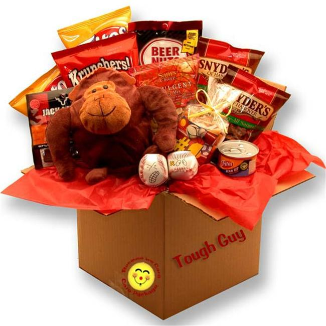 Gift Basket 819591 Tough Guys Snack Care Package Gift Basket