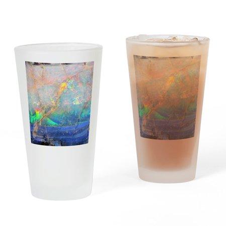 Metallic Iridescent Glass (CafePress - Opal Gemstone Iridescent Mineral Bl - Pint Glass, Drinking Glass, 16 oz. CafePress)