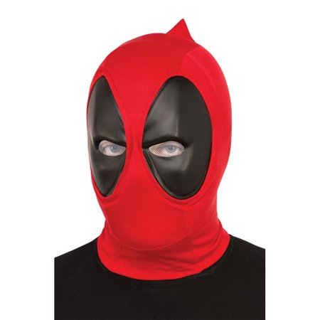 Morris Costumes RU68850 Deadpool Adult Fabric - Deadpool Mask Replica