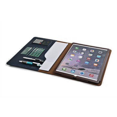 Apple iPad Pro Folio Case, Organizer Case with Mini Calculator and Kickstand Holder for New 12.9 inch iPad Pro by