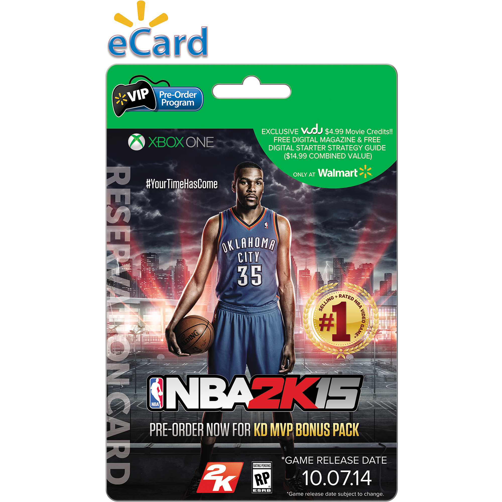 Nba 2k15 Xbox One (e-mail Delivery) Wal-