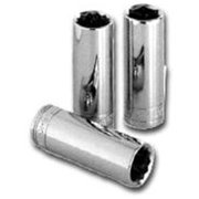 S K Hand Tools 44706 1/4in. Drive Deep 12 Point Socket 7mm
