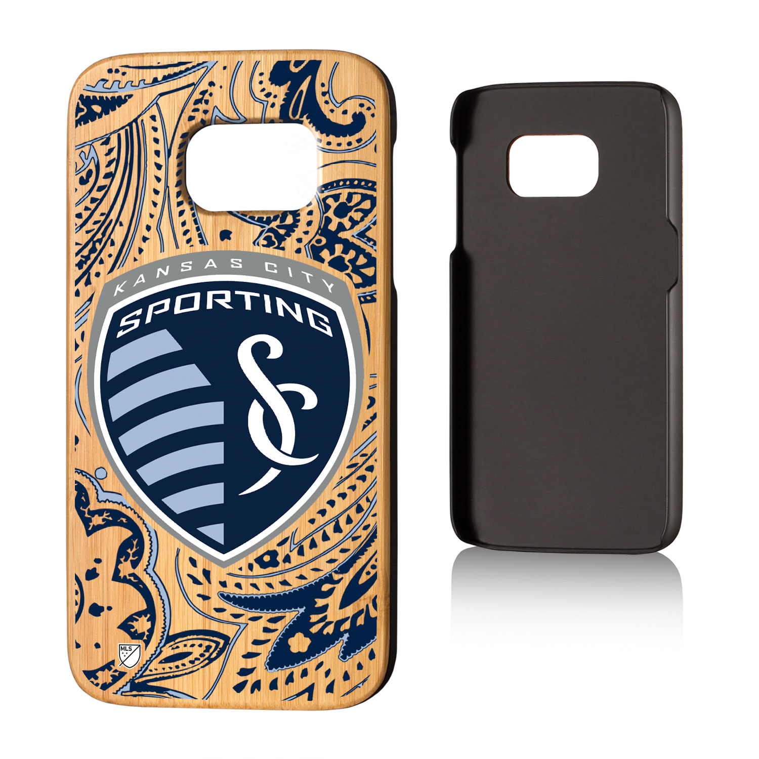 Sporting Kansas City SPORTING Paisley Bamboo Case for Galaxy S7