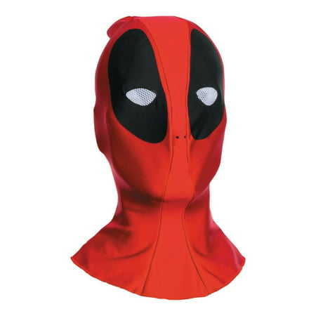 Best Mask For Halloween (Deadpool Fabric Adult Mask, Halloween)