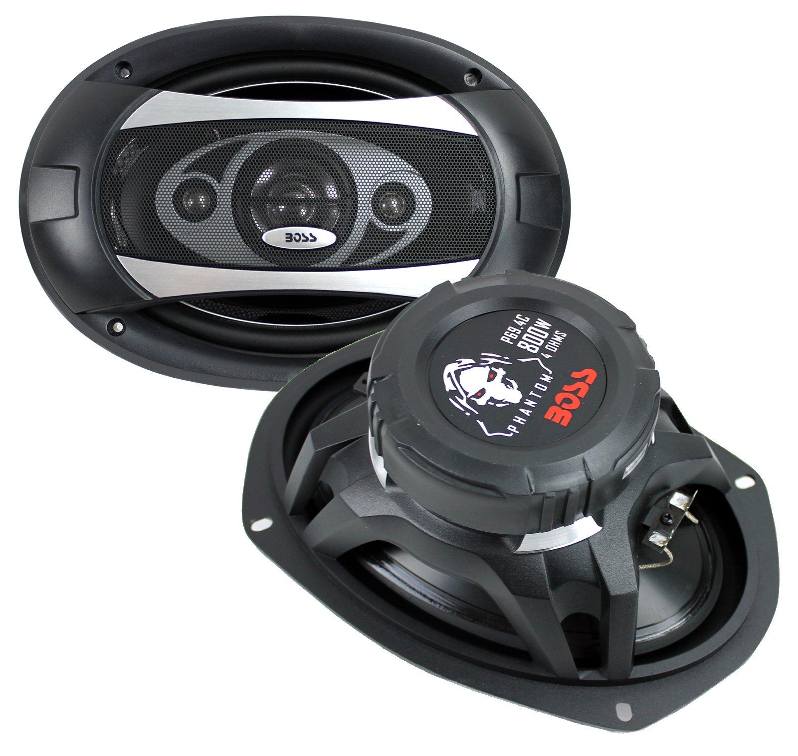 """Boss Audio Phantom 6"""" x 9"""" 4-Way 800W Full Range Speaker"""