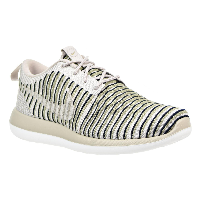 8e6282e218af8 Nike - Nike Roshe Two Flyknit Women s Shoes String Neutral Olive Black  844929-200 - Walmart.com