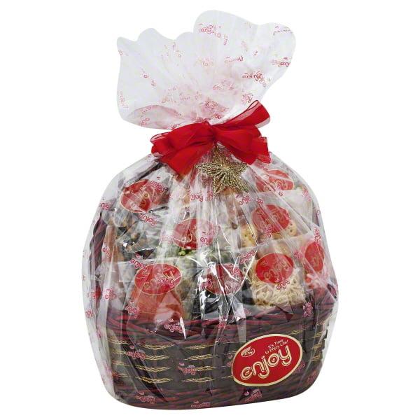 Enjoy Medium Holiday Gift Basket, 62 Oz.