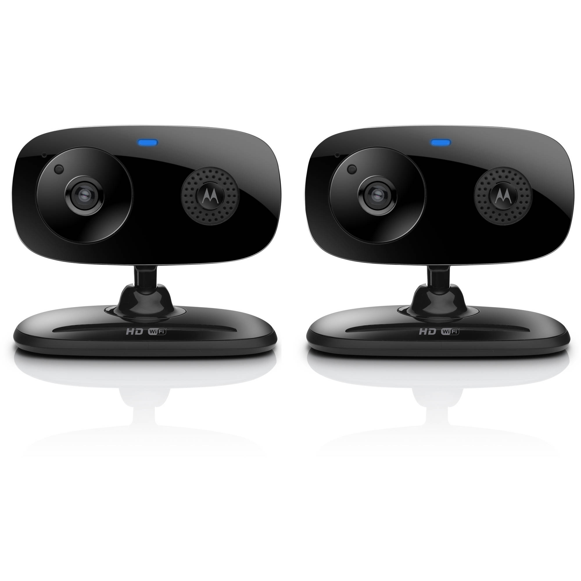 Motorola Focus66-BLK2 WiFi HD Home Monitoring Camera, 2pk, Black