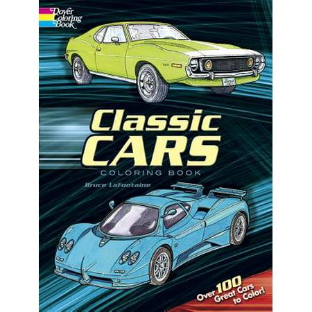 Classic Cars Coloring Book (Car Classics Magazine)