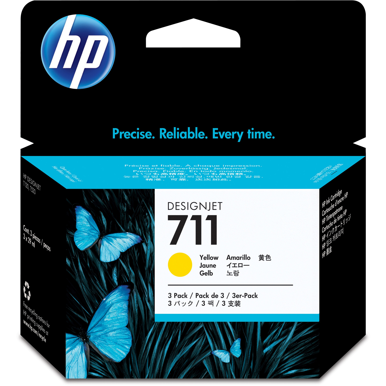 HP, HEWCZ136A, CZ1 Series Ink Cartridges, 3 / Pack
