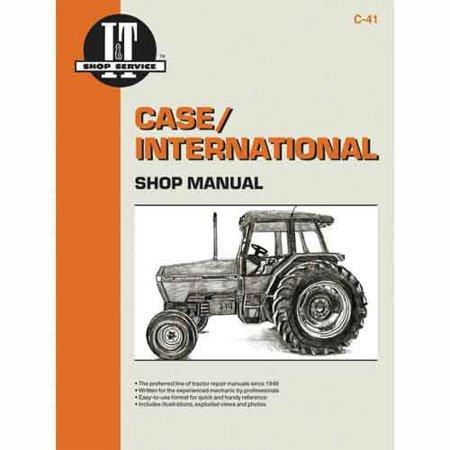 I&t Shop Manual Case - I&T Shop Manual, New, Case IH
