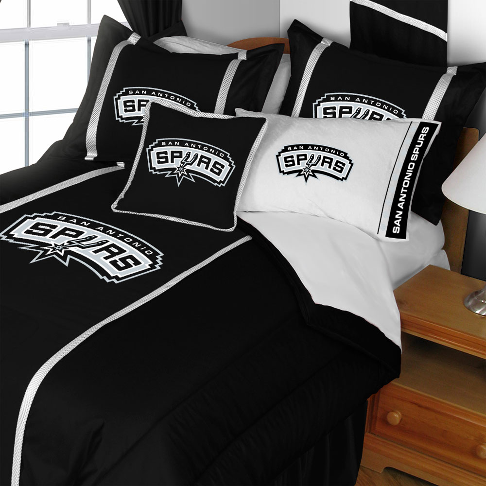 NBA San Antonio Spurs Bedding Basketball Comforter Sheets
