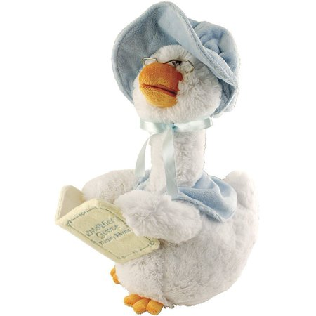 Mother Goose Blue 14 inch Animated Plush - Stuff Animal by Cuddle Barn (42860)