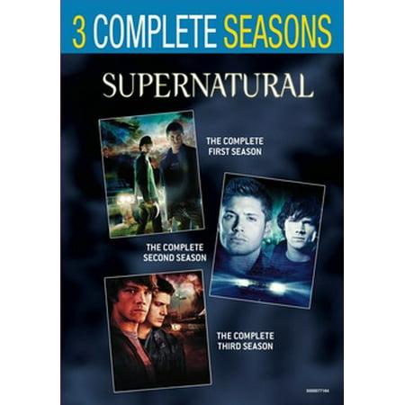 Supernatural: Seasons 1-3 (DVD) - Halloween Season Floor 13