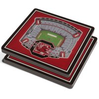 South Carolina Gamecocks 3D StadiumViews Coasters - Red - No Size