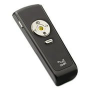 SMK-Link Electronics Wireless Presenter with Laser Pointer, Class 2, Black/Silver