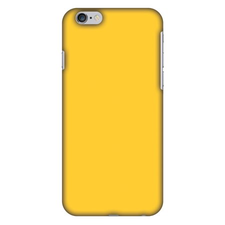 iPhone 6s Case, iPhone 6 Case - Bumblebee Yellow,Hard Plastic Back Cover, Slim Profile Cute Printed Designer Snap on Case with Screen Cleaning - Bumblebee Cute