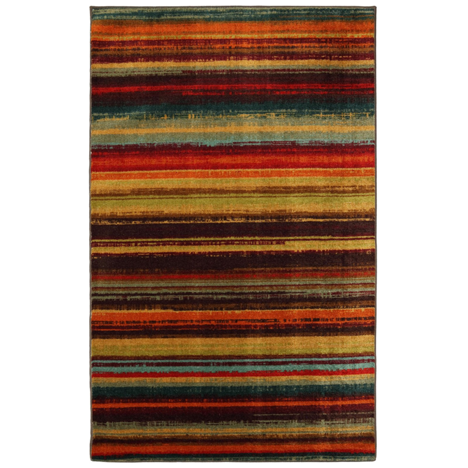 Mohawk Home New Wave Boho Stripe Indoor Area Rug