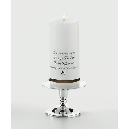 Personalized Memorial Candle Walmartcom